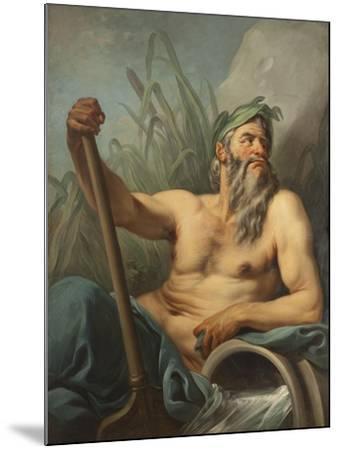 River God, c.1735-65-Carle van Loo-Mounted Giclee Print