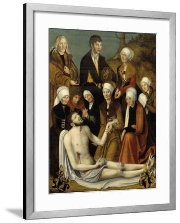 The Lamentation, c.1520-50-Lucas Cranach-Framed Giclee Print