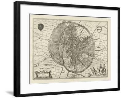 Plan of Leuven, 1581-Jan Luyken-Framed Giclee Print