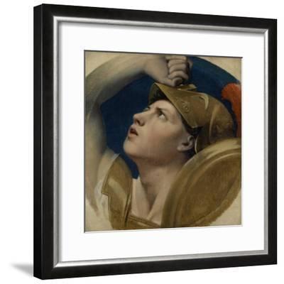 Mars, 1864-Jean Auguste Dominique Ingres-Framed Giclee Print