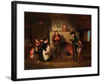 Taking the Census, 1854-Francis William Edmonds-Framed Giclee Print