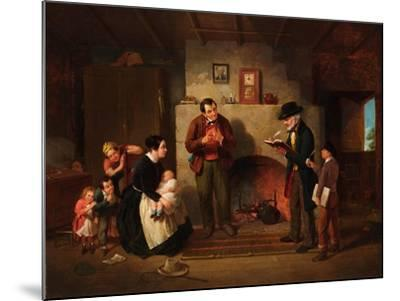 Taking the Census, 1854-Francis William Edmonds-Mounted Giclee Print