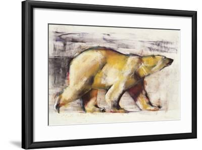 Polar Bear-Mark Adlington-Framed Giclee Print