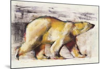Polar Bear-Mark Adlington-Mounted Giclee Print