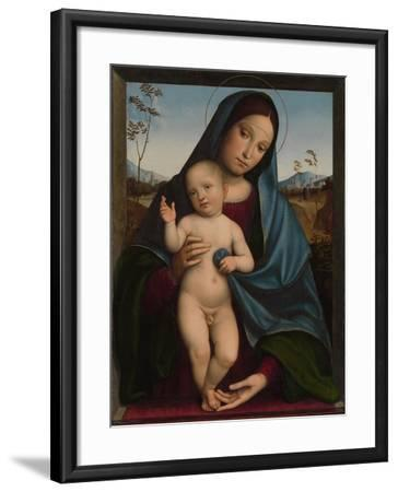 Madonna and Child, 1490-9-Il Francia-Framed Giclee Print