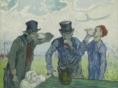 The Drinkers, 1890-Vincent van Gogh-Framed Premium Giclee Print