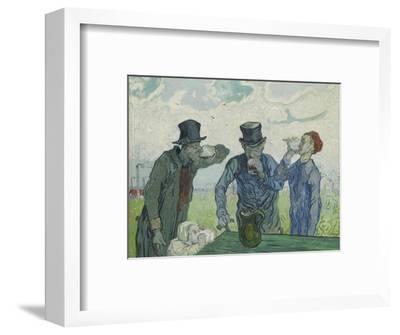 The Drinkers, 1890-Vincent van Gogh-Framed Giclee Print