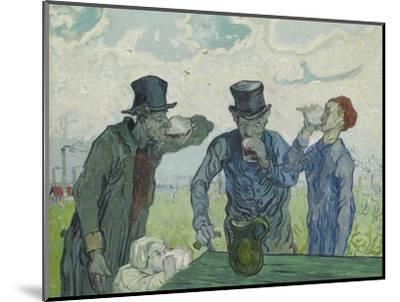 The Drinkers, 1890-Vincent van Gogh-Mounted Giclee Print