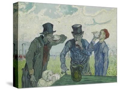 The Drinkers, 1890-Vincent van Gogh-Stretched Canvas Print