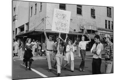 Iran Hostage Crisis student demonstration, Washington, D.C., 1979-Marion S^ Trikosko-Mounted Photographic Print