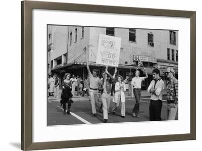 Iran Hostage Crisis student demonstration, Washington, D.C., 1979-Marion S^ Trikosko-Framed Photographic Print