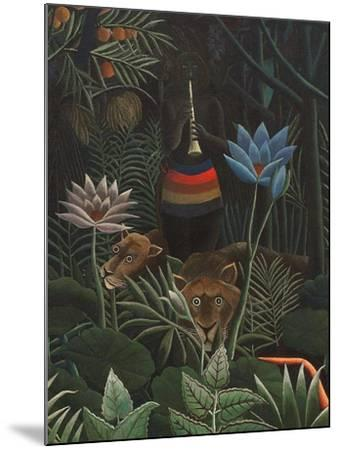 Detail of The Dream, 1910-Henri J^F^ Rousseau-Mounted Giclee Print