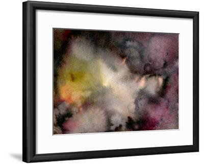 Dark Watercolor Mood-Marina Zakharova-Framed Art Print