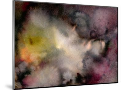 Dark Watercolor Mood-Marina Zakharova-Mounted Art Print