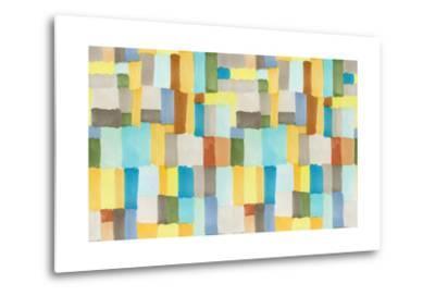 Multicolor Abstract Pattern-Marina Zakharova-Metal Print