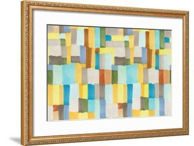 Multicolor Abstract Pattern-Marina Zakharova-Framed Art Print