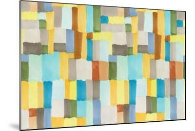Multicolor Abstract Pattern-Marina Zakharova-Mounted Art Print