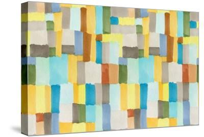 Multicolor Abstract Pattern-Marina Zakharova-Stretched Canvas Print