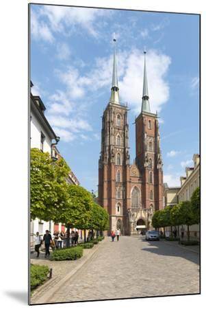 Poland, Wroclaw, Wroclaw Cathedral, Cathedral of St. John the Baptist-Roland T. Frank-Mounted Photographic Print