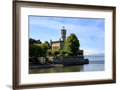 Castle Montfort, Langenargen, Lake of Constance, Baden-Wurttemberg, Germany-Ernst Wrba-Framed Photographic Print