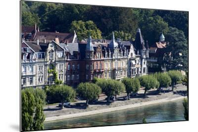 Seestrasse, Constance, Lake of Constance, Baden-Wurttemberg, Germany-Ernst Wrba-Mounted Photographic Print