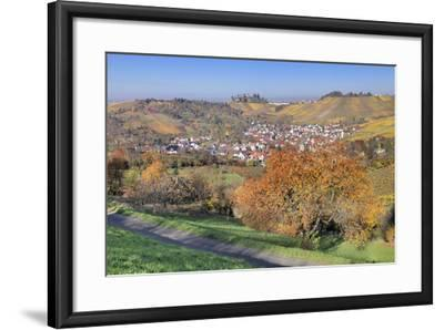View About Uhlbach on the Tomb Chapel in Rotenberg, Part of Town of Stuttgart, Germany-Markus Lange-Framed Photographic Print