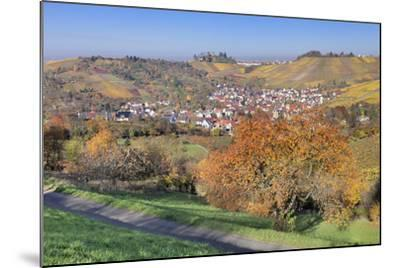 View About Uhlbach on the Tomb Chapel in Rotenberg, Part of Town of Stuttgart, Germany-Markus Lange-Mounted Photographic Print