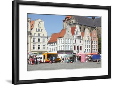 Europe, Germany, Historical Gabled Houses-Torsten Kruger-Framed Photographic Print