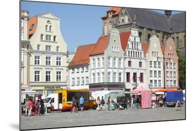 Europe, Germany, Historical Gabled Houses-Torsten Kruger-Mounted Photographic Print
