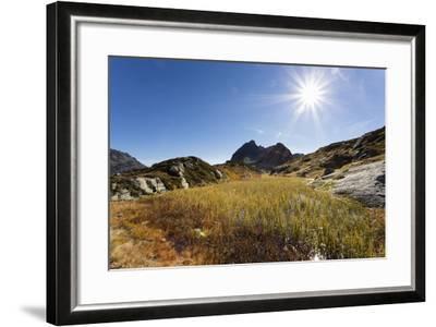 Moorsee in Front of Ballunspitze-Jurgen Ulmer-Framed Photographic Print