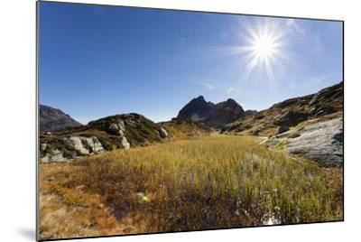 Moorsee in Front of Ballunspitze-Jurgen Ulmer-Mounted Photographic Print