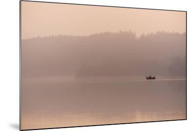 Angler in the Fog-Benjamin Engler-Mounted Photographic Print