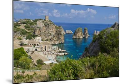 Italy, Sicily, Tonnara Di Scopello, Tuna Bay-Udo Bernhart-Mounted Photographic Print