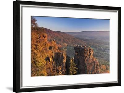 Battertfelsen, Germany-Markus Lange-Framed Photographic Print