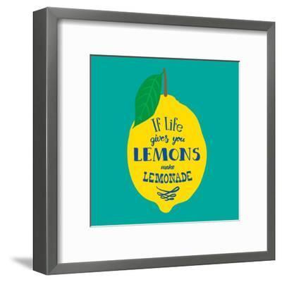 If Life Gives You Lemons, Make Lemonade-Ivanov Alexey-Framed Art Print