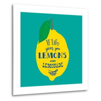 If Life Gives You Lemons, Make Lemonade-Ivanov Alexey-Metal Print