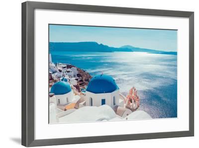 Santorini Island,Greece-anastasios71-Framed Photographic Print