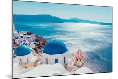 Santorini Island,Greece-anastasios71-Mounted Photographic Print