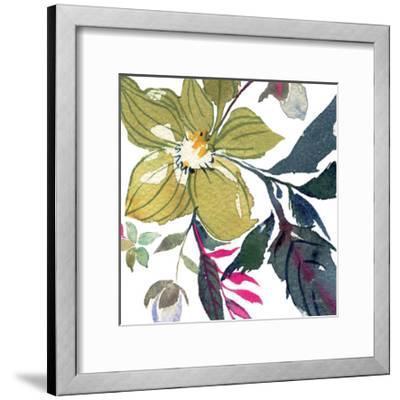 Hellebore Ya Doing I-Kristy Rice-Framed Art Print