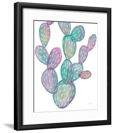 Lovely Llamas Cactus-Mary Urban-Framed Art Print