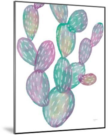 Lovely Llamas Cactus-Mary Urban-Mounted Art Print