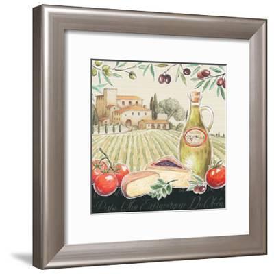 Tuscan Flavor III-Daphne Brissonnet-Framed Art Print