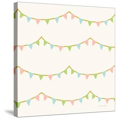 Little Circus Pastel Pattern IV-Cleonique Hilsaca-Stretched Canvas Print