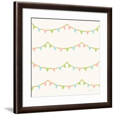 Little Circus Pastel Pattern IV-Cleonique Hilsaca-Framed Art Print