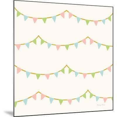 Little Circus Pastel Pattern IV-Cleonique Hilsaca-Mounted Art Print
