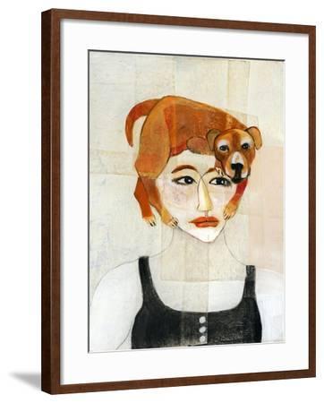 Dog Hair-Stacy Milrany-Framed Art Print