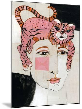 Cat Hair-Stacy Milrany-Mounted Art Print