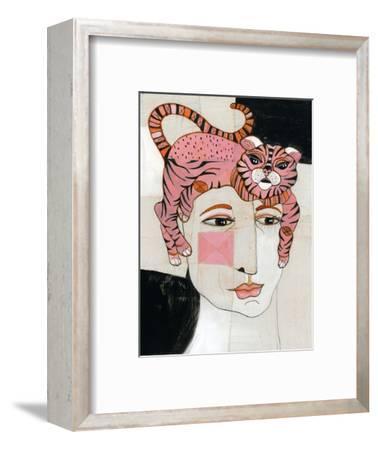 Cat Hair-Stacy Milrany-Framed Art Print