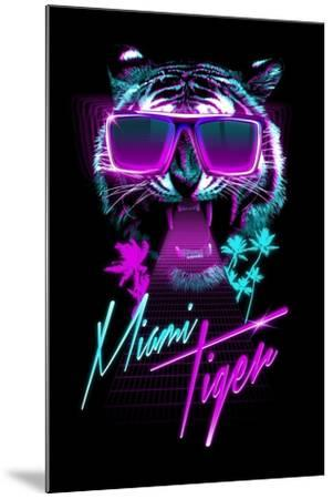 Miami Tiger-Robert Farkas-Mounted Art Print