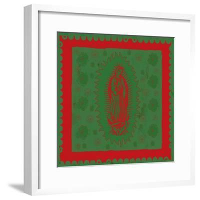 Green Mary-Marta Wiley-Framed Art Print